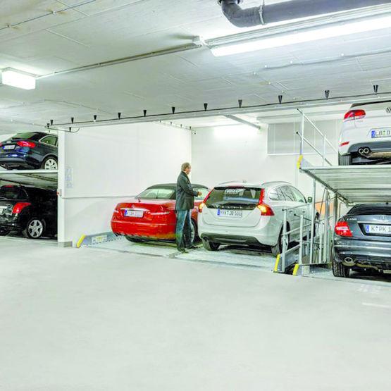parking m canis ind pendant parklift 405 2 places avec fosse w hr par alinea park. Black Bedroom Furniture Sets. Home Design Ideas