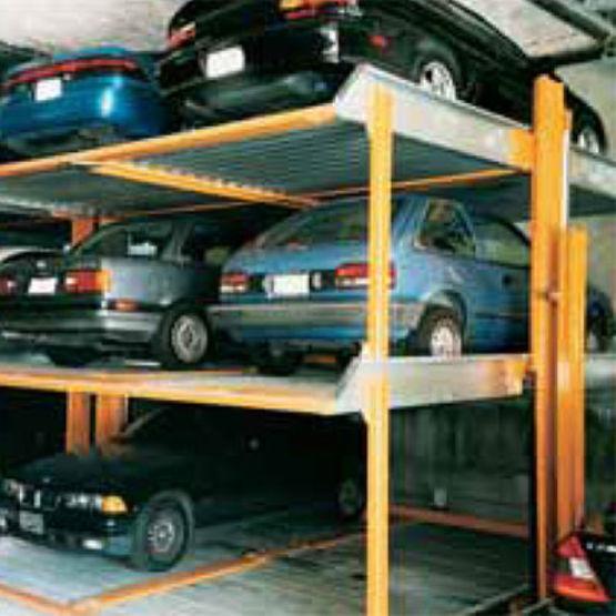 Parking m canis pour 1 6 v hicules 3 niveaux de - Jeux de voiture a garer dans un garage ...