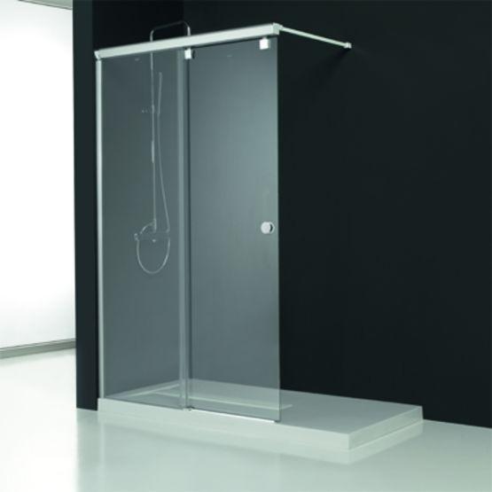 Paroi de baignoire et douche panneaux coulissants for Baignoire et douche cote a cote