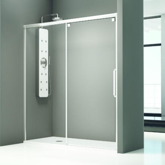 paroi de baignoire et douche panneaux coulissants. Black Bedroom Furniture Sets. Home Design Ideas