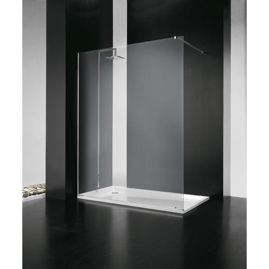 paroi de douche fixe sans structure sintesi vismara. Black Bedroom Furniture Sets. Home Design Ideas