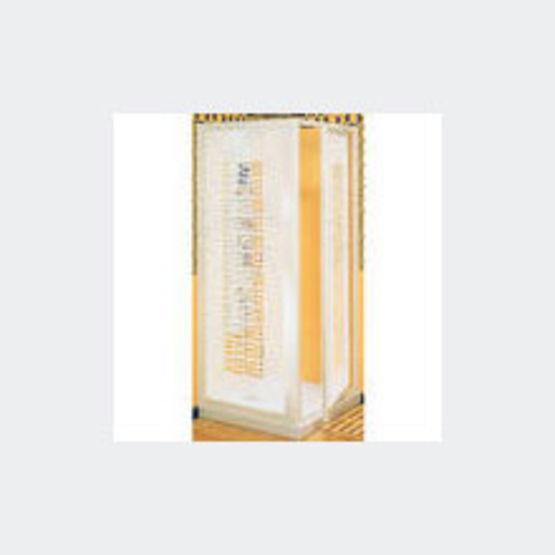 parois de douche en verre transparent s rigraphi ou patin corail sanitec. Black Bedroom Furniture Sets. Home Design Ideas