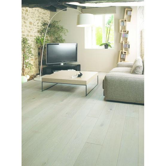 parquet massif en lame de 13 cm de largeur cumin design parquet. Black Bedroom Furniture Sets. Home Design Ideas