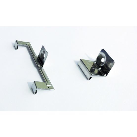 pattes de fixation pour couverture ventil e joint debout. Black Bedroom Furniture Sets. Home Design Ideas
