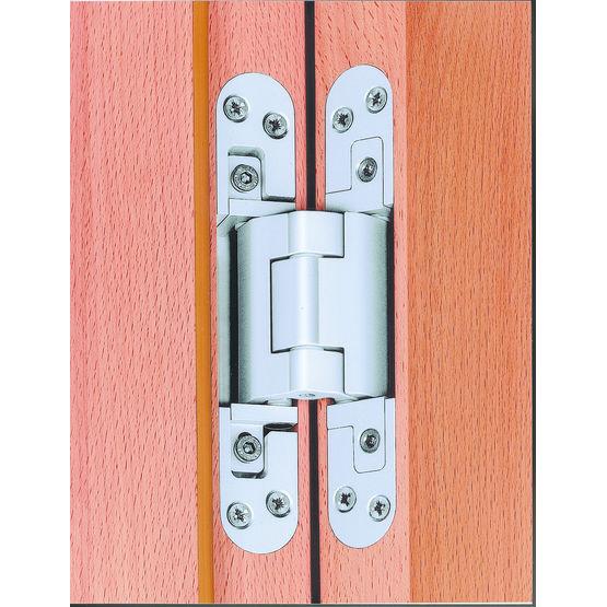 Paumelles invisibles pour portes int rieures affleurantes - Charniere de porte d entree ...