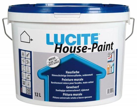 LUCITE MURALE HOUSEPAINT : Peinture à base de résines acryliques micronisées pour les façades ...