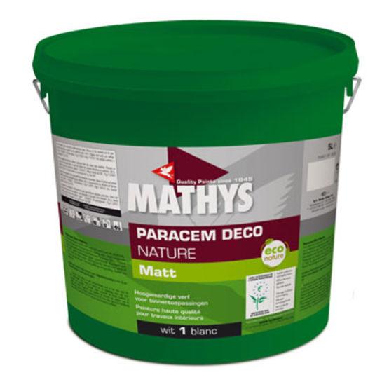 Peinture acrylique couvrante et garnissante   Paracem Deco Natur - Rust-Oleum Mathys