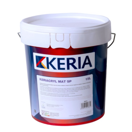 Peinture acrylique mate   Keriacryl Mat - CD Peintures