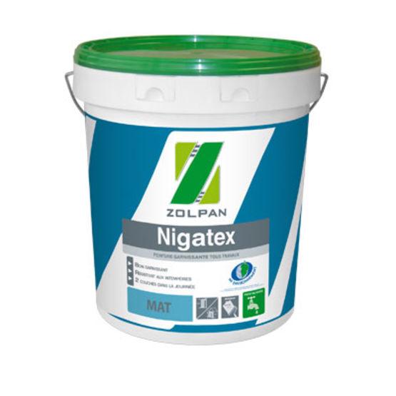 Peinture acrylique mate nigatex zolpan - Peinture zolpan prix ...