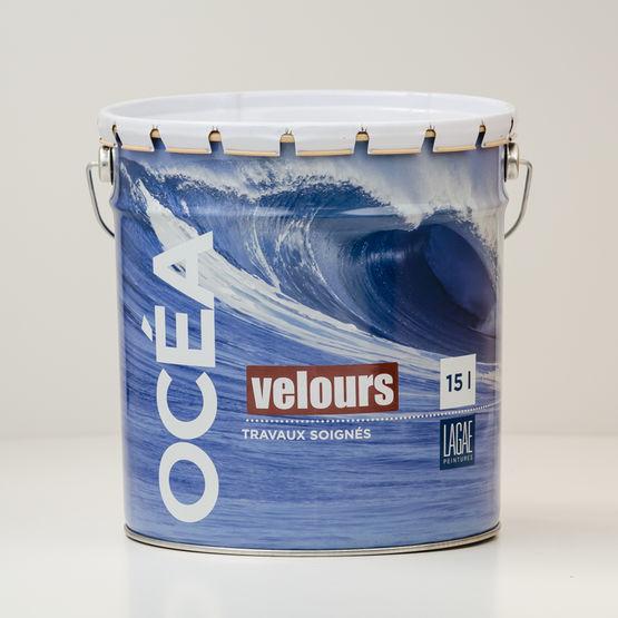 Peinture acrylique murale mat velout l g rement arrondi for Peinture acrylique murale satinee