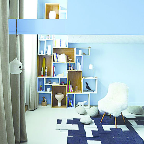 peinture aspect velours ou mat assainissant l 39 air ambiant guittet. Black Bedroom Furniture Sets. Home Design Ideas