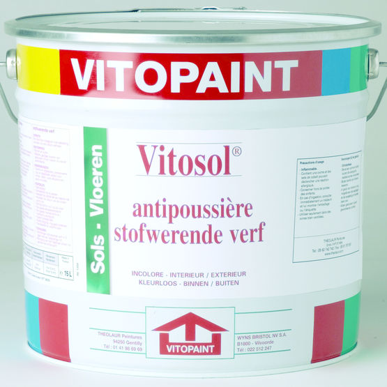 Peinture autolissante satin e brillante vitopaint for Peinture brillante ou satinee