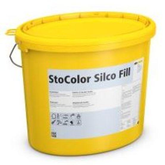 Peinture De Façade Semi épaisse Très Résistant Aux Pollutions Atmosphériques Stocolor Silco Fill