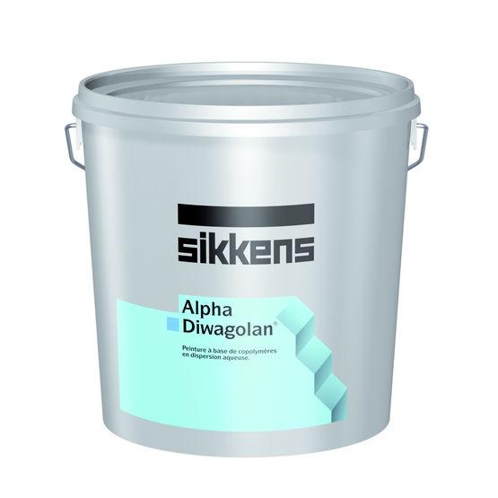 peinture de protection et d coration pour ravalement de fa ade alpha diwagolan sikkens. Black Bedroom Furniture Sets. Home Design Ideas