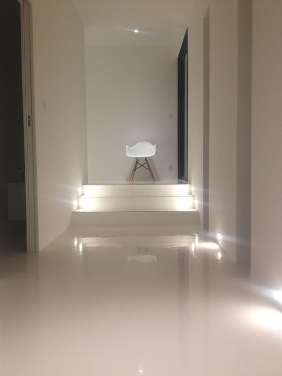 Peinture De Sol Laque époxy Aspect Miroir Brillant