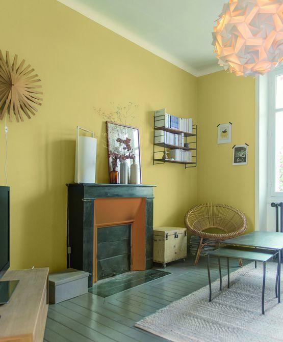 peinture d polluante finition velout e ondi pur velours zolpan. Black Bedroom Furniture Sets. Home Design Ideas
