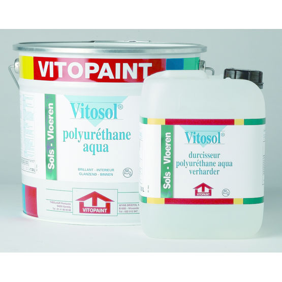 peinture en mulsion aqueuse pour sols techniques vitosol polyur thane eau vitopaint. Black Bedroom Furniture Sets. Home Design Ideas