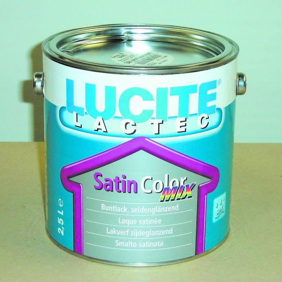 Peinture laque polyuréthane d'aspect satiné   Lucite Lactec Satin - CD Peintures