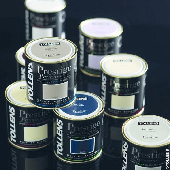 Peinture laque pour murs boiseries ou meubles prestige premium tollens - Tollens prestige premium ...
