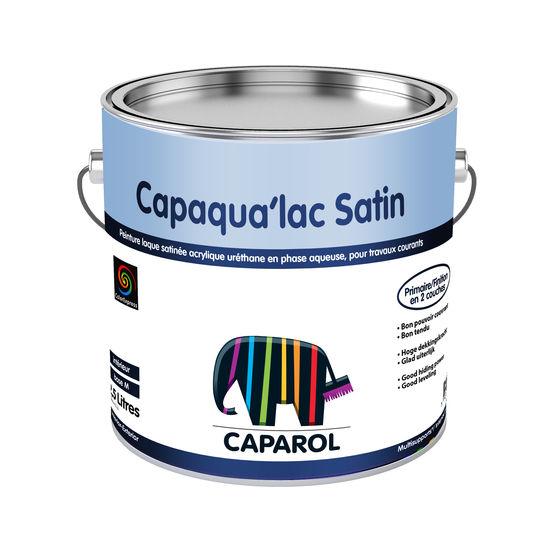 Peinture Laque Satine Acrylique Urthane  CapaquaLac Satin  Caparol