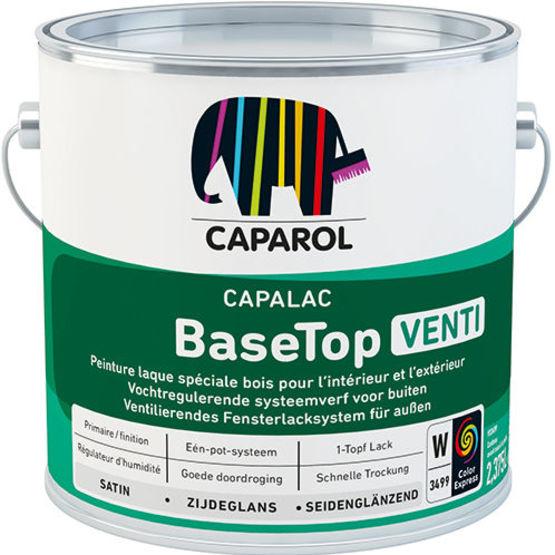 Peinture Laque Spciale Bois  Capalac Basetop Venti  Caparol