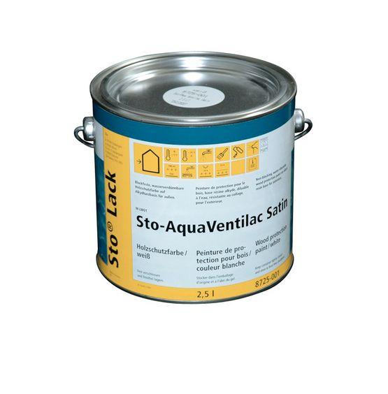 Peinture Microporeuse Pour Bois En Extérieur Sto Aquaventilac