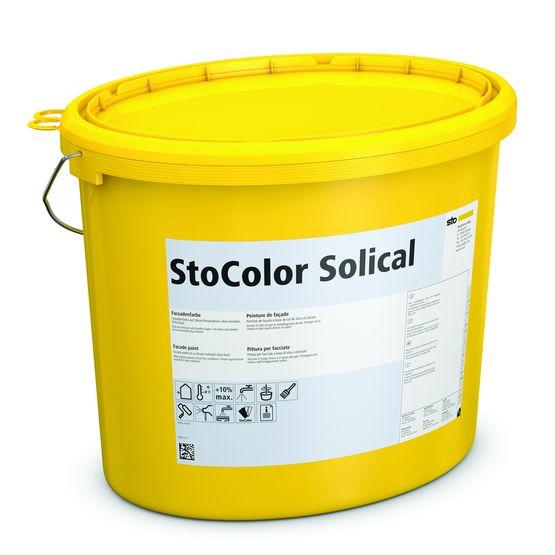 Peinture min rale pour fa ade stocolor solical sto - Colorant pour huile de lin ...