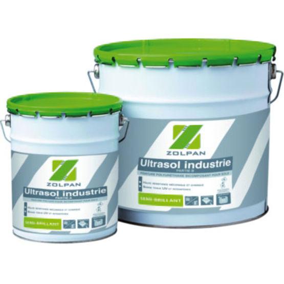 Peinture polyur thane pour sols fortement sollicit s zolpan for Peinture pour sanitaire