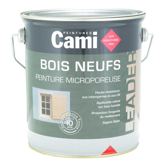 Peinture Pour Boiseries Neuves  Bois Neufs  Cami
