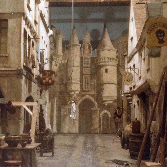Peinture souple pour d cors de th tre ou v nementiel for Decor de theatre