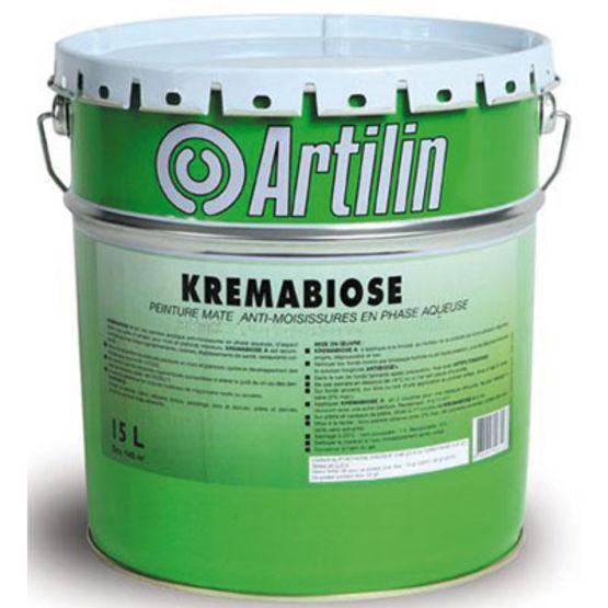 Peinture Vinylique Resistant Aux Moisissures Kremabiose Artilin