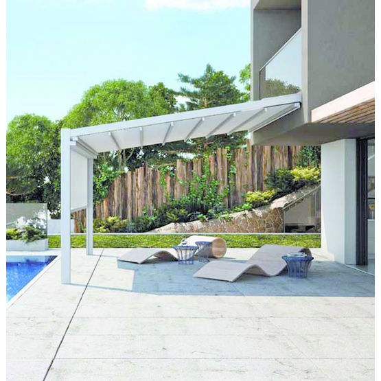 Stunning Couverture Pergola Canisse Contemporary - Design Trends ...
