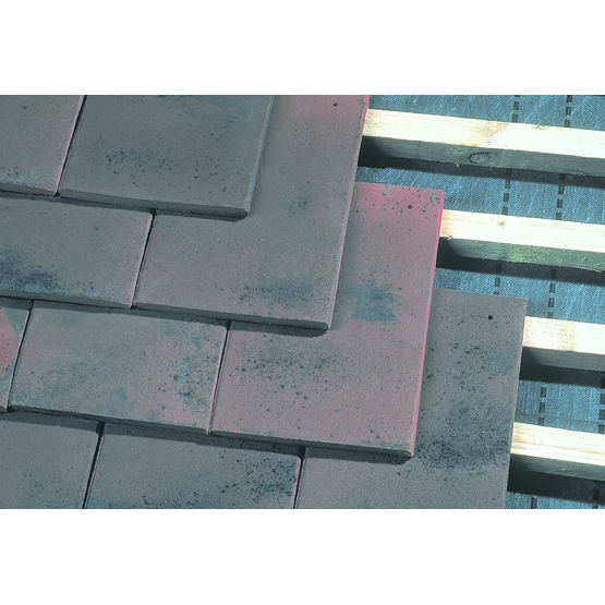 Petite tuile plate 17 x 27 en trois teintes plate de for Tuile plate de pays