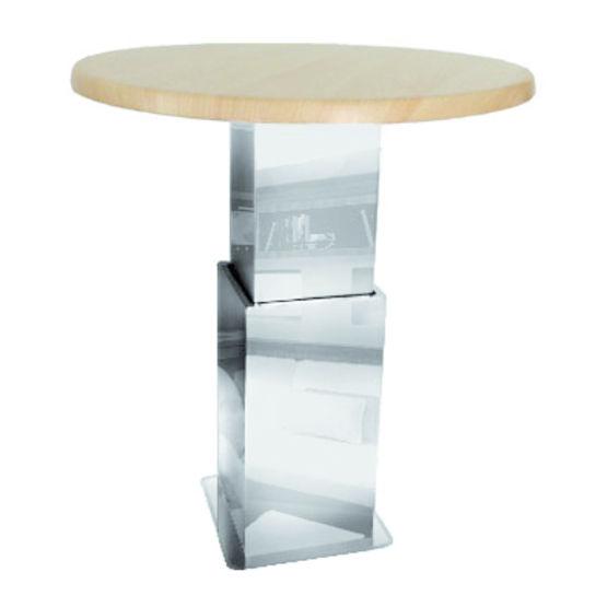pied de table t lescopique pdt noval. Black Bedroom Furniture Sets. Home Design Ideas