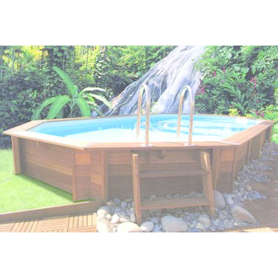 Piscine en bois exotique pr te monter rapido vitalo for Piscine a monter