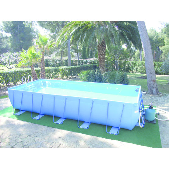 piscine hors sol en toile pvc express 39 o vitalo groupe. Black Bedroom Furniture Sets. Home Design Ideas