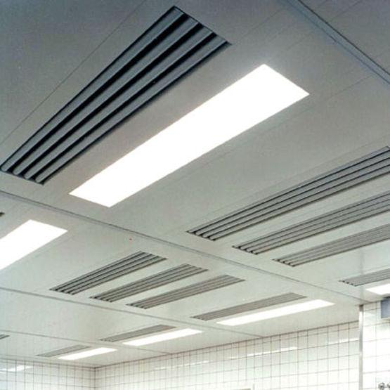 Plafond Filtrant Fermé De Forme Ovale Ou Droite Pour Cuisine