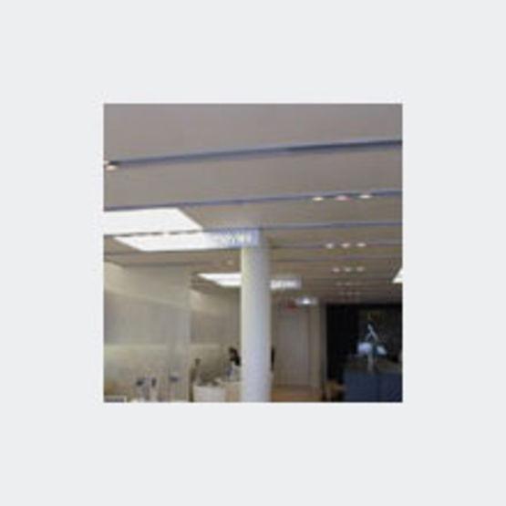 plafond tendu pvc perfor newline newmat. Black Bedroom Furniture Sets. Home Design Ideas