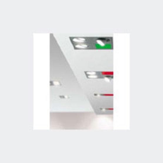 Plafonniers modulaires pour faux plafonds du tertiaire for Materiel pour faux plafond