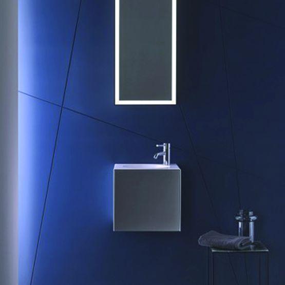 plan de toilette pour petites salles de bains alape. Black Bedroom Furniture Sets. Home Design Ideas
