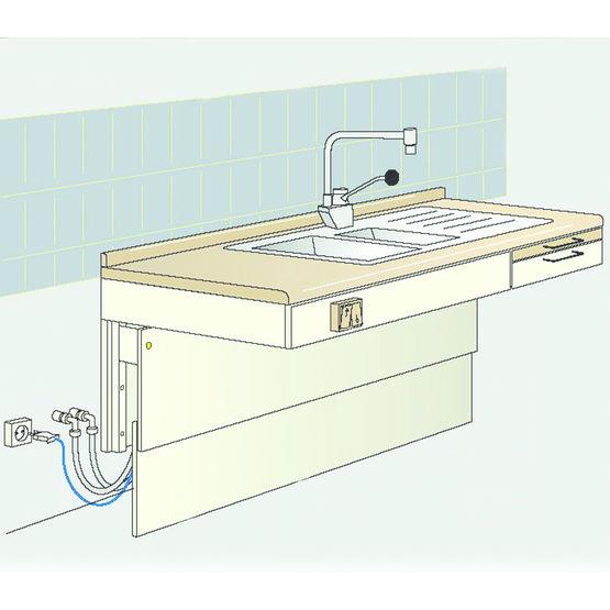 norme hauteur plan de travail cuisine good norme hauteur lavabo u chaios hauteur plan de. Black Bedroom Furniture Sets. Home Design Ideas