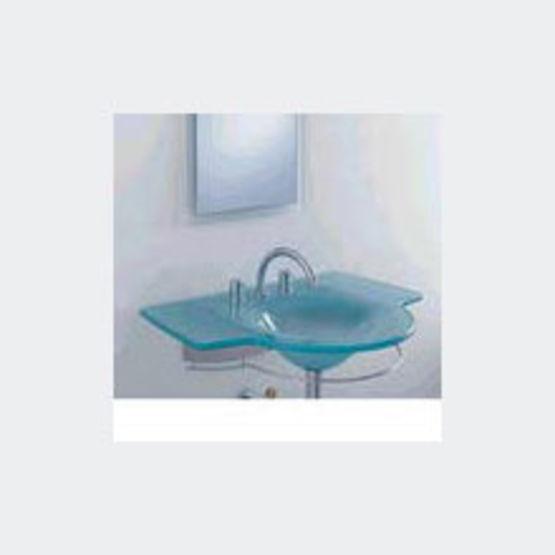 plan vasque en verre de 19 mm d 39 paisseur dgm blinox. Black Bedroom Furniture Sets. Home Design Ideas