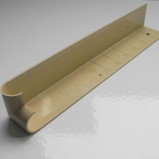 Planche de rive en pvc pour toitures en neuf ou r novation for Planche pvc exterieur