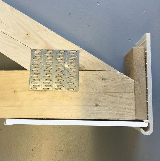 Planche de rive en pvc pour toitures en neuf ou r novation - Planche de rive pvc ...