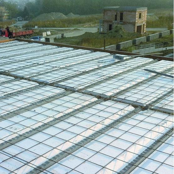 plancher pour traitement des ponts thermiques en toiture terrasse seacbois toiture terrasse seac. Black Bedroom Furniture Sets. Home Design Ideas