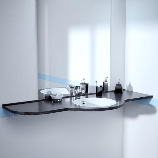 plans vasque sur mesure pmr gamme sant erp i monoplans. Black Bedroom Furniture Sets. Home Design Ideas