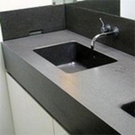 Plans vasques en basalte naturel pour salles de bains dalles basalte plan vasque couleur pierre for Plan vasque salle de bain