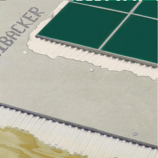 Plaque de sol base de ciment pour rev tements carrel s for Plaque de ciment pour sol