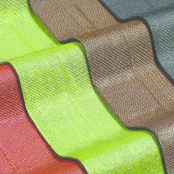 Plaques Ondulées Bitumées En 4 Coloris Pour Couverture Onduline