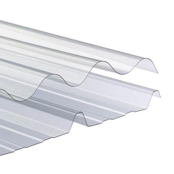 Plaques ondulées translucides pour bardage ou couverture ONDULINE # Plaque De Bois Compressé